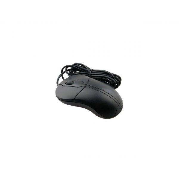 dell deluxe usb optical 3 button scroll mouse xn966 zwart